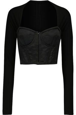 Dolce & Gabbana Women Corsets - Square-neck corset top