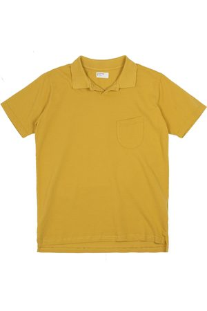 Universal Works Vacation Polo Piquet Gold