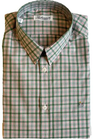 LEATHERSMITH OF LONDON 5414 Checked Red Shirt