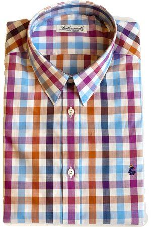 LEATHERSMITH OF LONDON 5419 Checked Multi Shirt