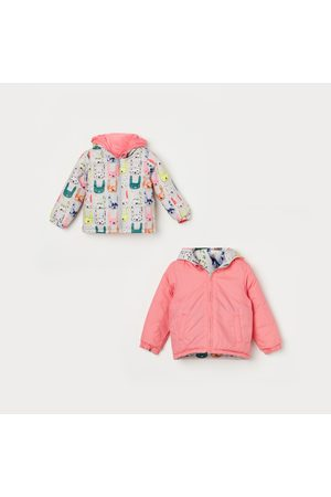 Juniors Girls Quilted Reversible Jacket