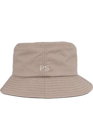 Paul Smith Bucket Hat Embroidered PS Logo Grey