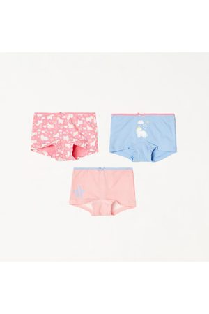 Fame Forever Girls Printed Hipster Panty- Pack of 3