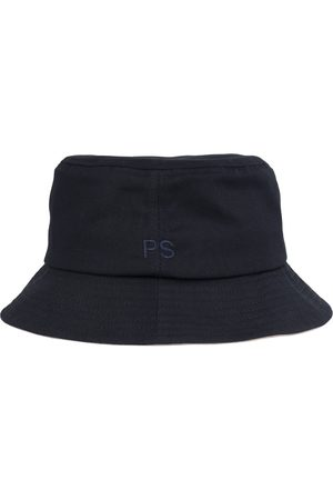 Paul Smith Bucket Hat Embroidered PS Logo Navy