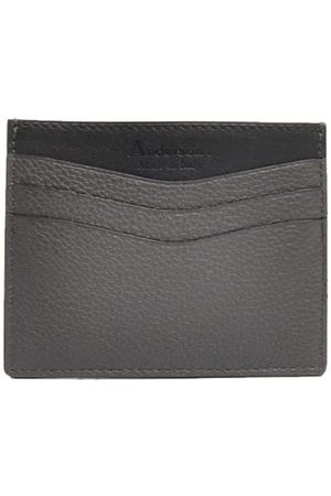 Anderson's Andersons Leather Card Holder Grey