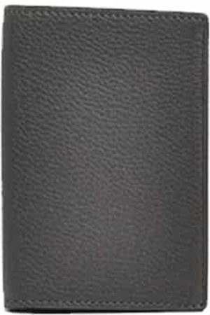 Anderson's Andersons Leather Card Wallet Grey