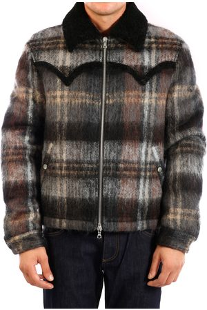 AMIRI Men Trench Coats - Plaid Short Trench Coat