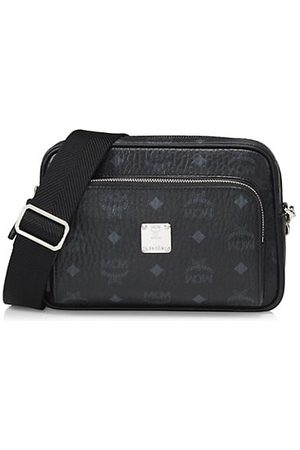 MCM Men Luggage - Small Klassik Visetos Crossbody Bag
