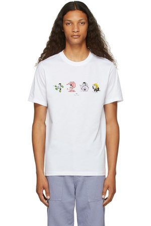 Men Short Sleeve - PS by Paul Smith Monkey Line-Up T-Shirt