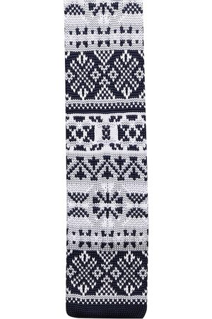 Tossido Men Multicoloured Knitted Broad Tie