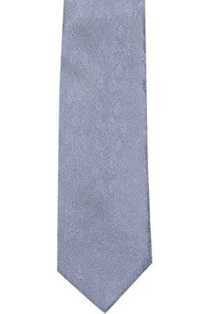Tossido Men Grey Woven Design Broad Tie