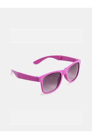 DukieKooky Unisex Kids Grey Lens & Pink Wayfarer Sunglasses with UV Protected Lens 900301