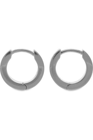 Hatton Labs Men Earrings - Edge Hoop Earrings