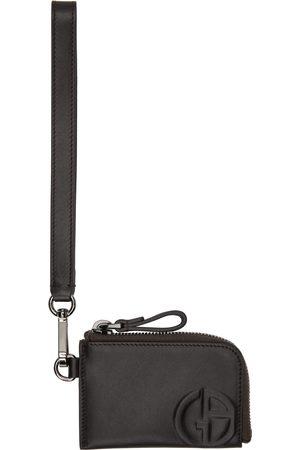 Giorgio Armani Zipped Wristlet-Style Card Holder