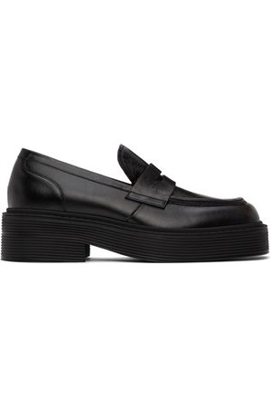 Marni Leather Penny Loafers
