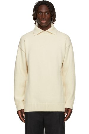Jil Sander Off- Wool & Cashmere Oversized Polo