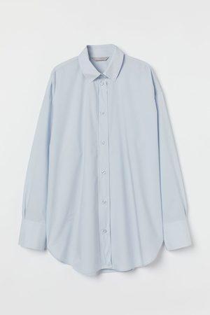 H&M Cotton poplin shirt