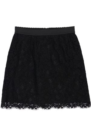 Dolce & Gabbana Lace Cotton Blend Skirt