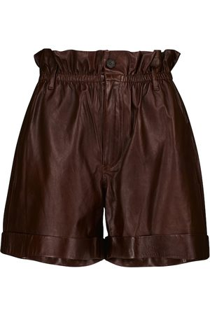 Polo Ralph Lauren Leather paperbag shorts