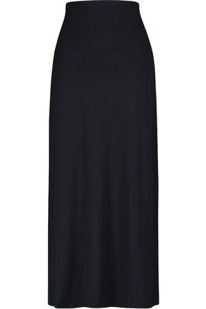 Max Mara Leisure Veggia stretch-knit midi skirt