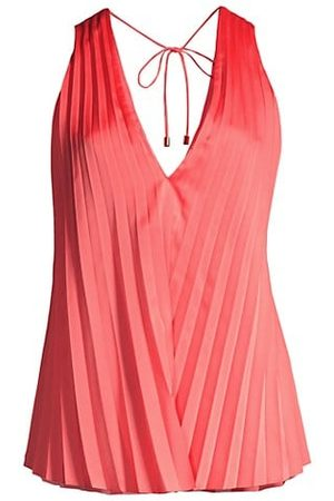 Significant Other Louise Pleated Tank Top