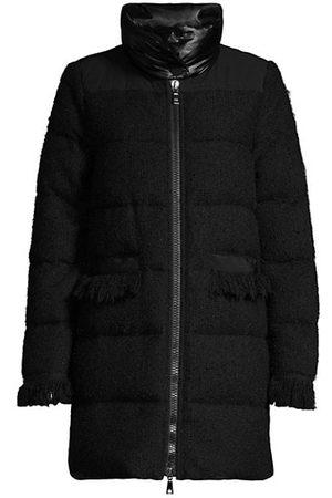 SEVENTY BY SERGIO TEGON Women Parkas - Tweed Puffer Coat