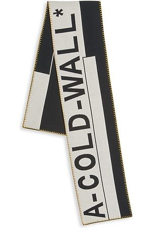 A-cold-wall* Men Gloves - Large Logo Scarf