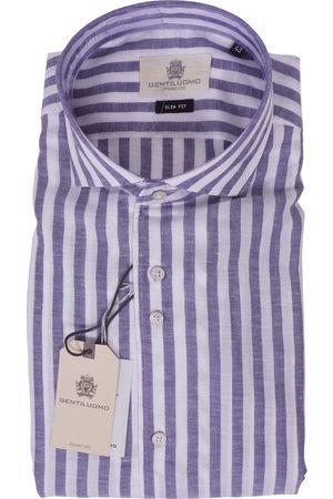 Gentiluomo Shirt Blauw S083-503-012