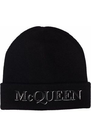 Alexander McQueen Embroidered Logo Beanie