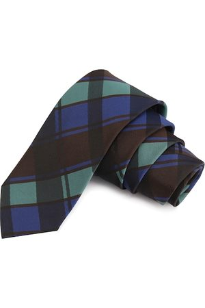 PELUCHE Men Multicoloured Checked Broad Tie