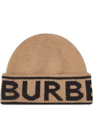 Burberry Men Hats - Logo Cashmere Knit Hat