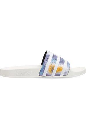 ADIDAS ORIGINALS Adilette Striped Slide Sandals