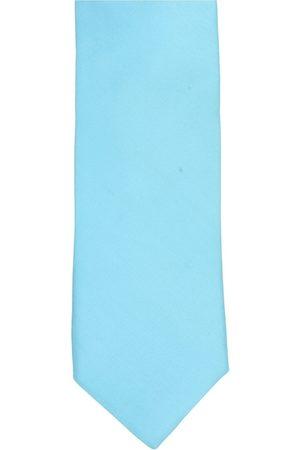 Alvaro Castagnino Men Turquoise Blue Broad Tie