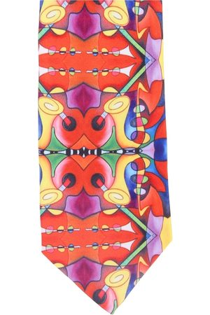 Alvaro Castagnino Men Multicoloured Printed Broad Tie