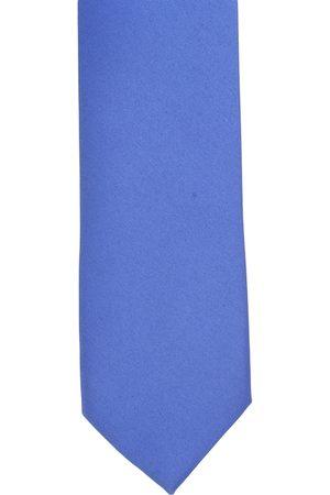 Alvaro Castagnino Men Blue Solid Broad Neck Tie