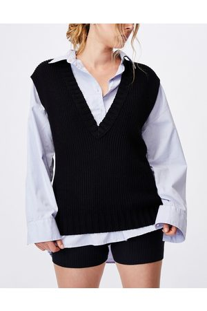 Cotton On Sleeveless knitted vest in