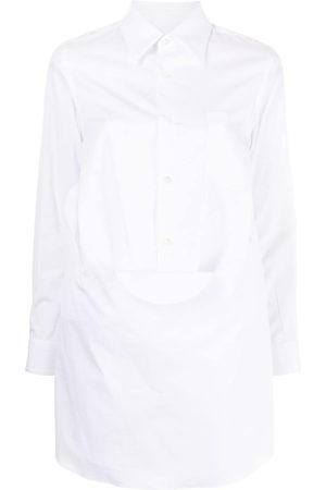 Comme des Garçons Women Long Sleeve - Long button-down shirt