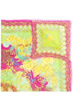Philipp Plein Baroque pattern-print scarf