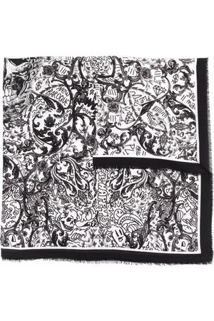 Philipp Plein New Baroque print scarf