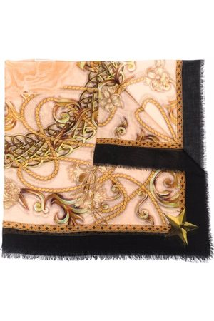 Philipp Plein Baroque-print scarf
