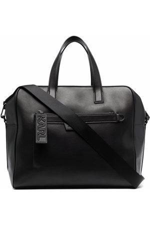 Karl Lagerfeld Leather luggage bag