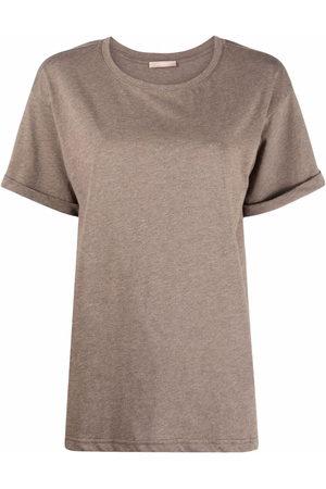 12 STOREEZ Mélange-effect cotton T-Shirt