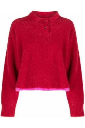 Jacquemus Stripe-detail long-sleeve jumper