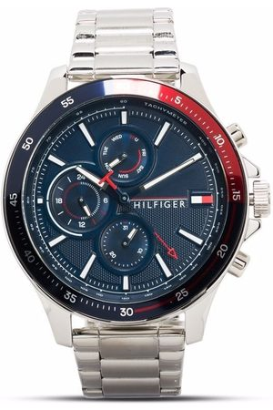 Tommy Hilfiger Stainless steel chronograph 46mm