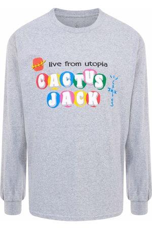 Travis Scott Astroworld X McDonald's Cj Live From Utopia T-shirt
