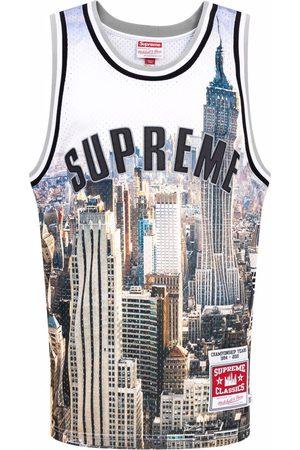 Supreme X Mitchell & Ness basketball shirt