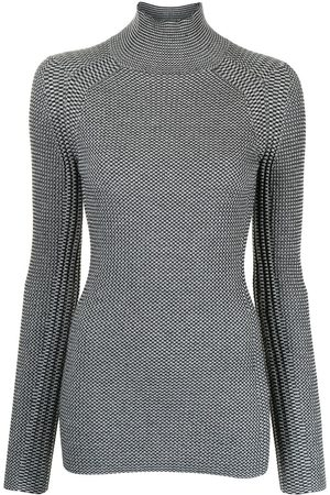 PROENZA SCHOULER WHITE LABEL High-neck knitted top