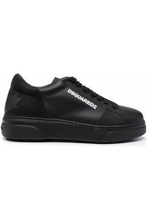 Dsquared2 Men Sneakers - Leaf logo low-top sneakers