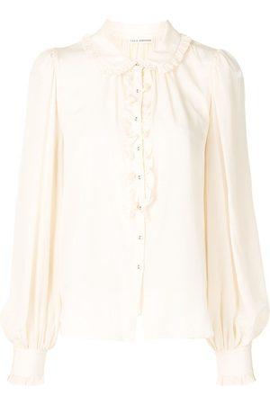 ULLA JOHNSON Philipa ruffle detail shirt
