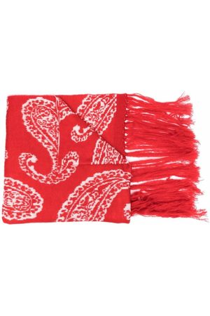 424 FAIRFAX Paisley pattern scarf